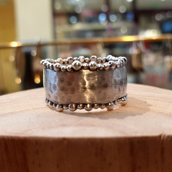 Bubbles-Ring 925 Sterling-Silber