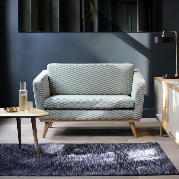 2er couch trendy er sofa grau leder schwarz weiss vcm. Black Bedroom Furniture Sets. Home Design Ideas