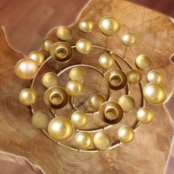 Medusa Leuchter rund