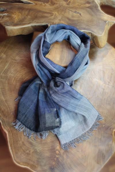 Baumwollschal gewebt, 100% Baumwolle, 40 x 180 cm