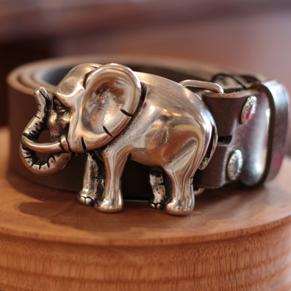 Schließe Elefant