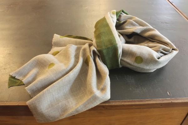 Schal aus Kaschmir und Wolle, gewebt