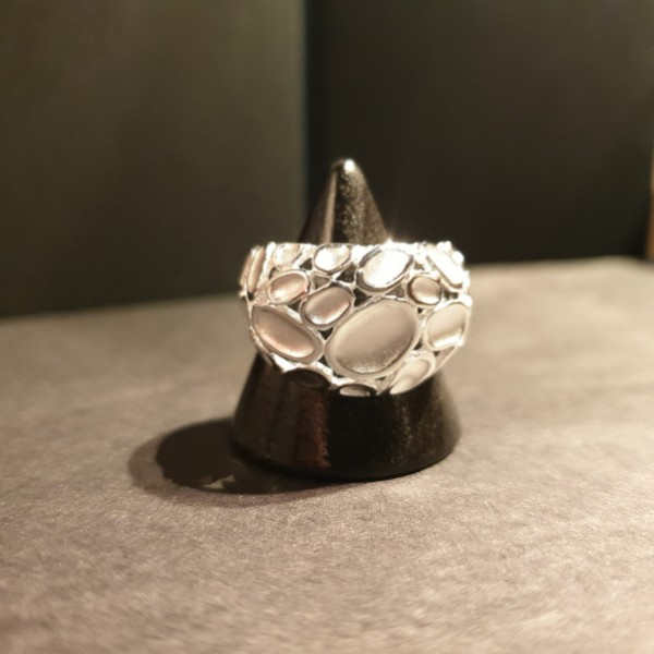 Stones Ring 925 Sterling-Silber